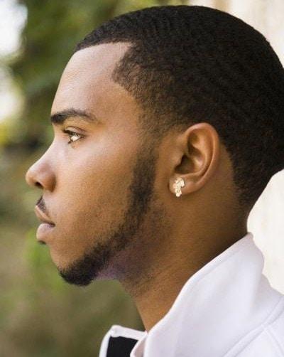 Chin Curtain Beards for black men