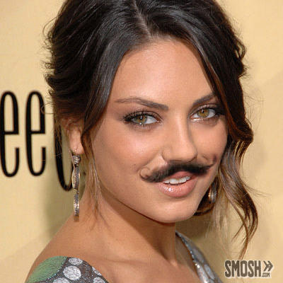 10 Pretty Girls With Unexpected Mustaches Beardstyle