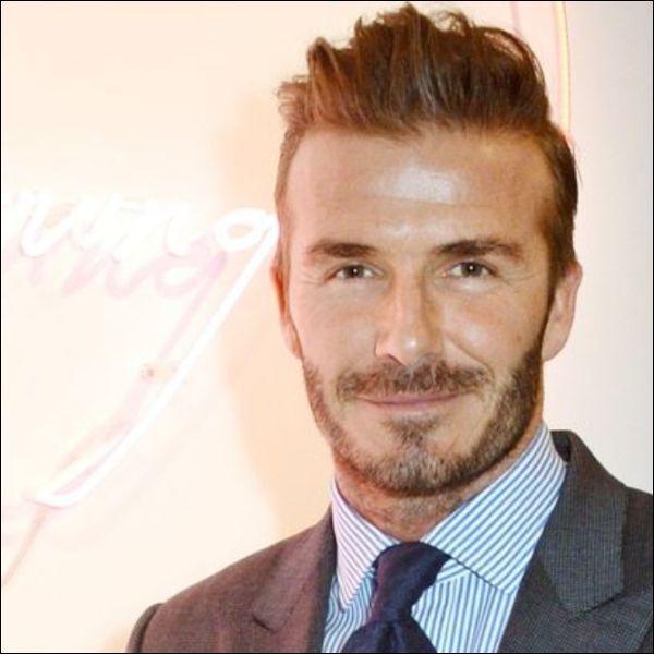 Beckham beard shape