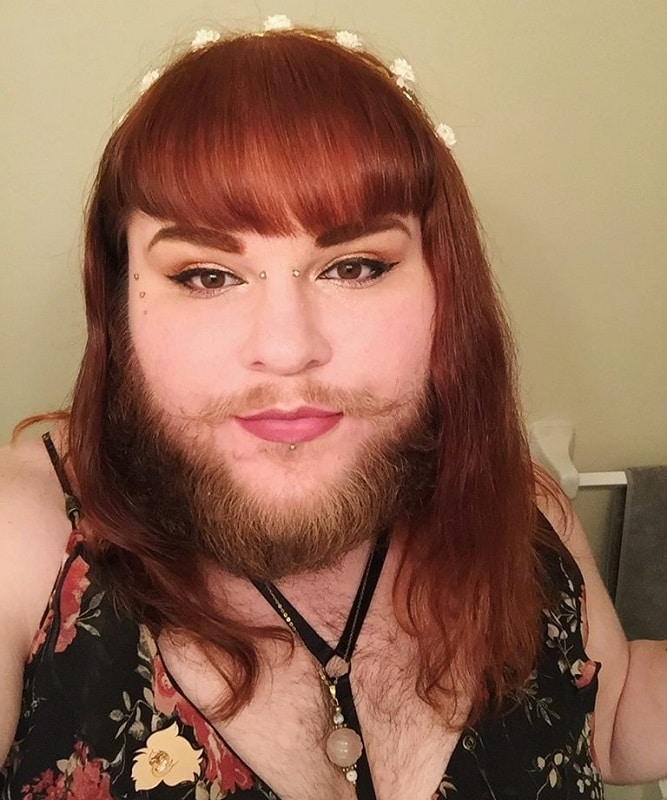 mustache for girls