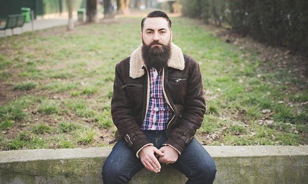beautiful full beard style