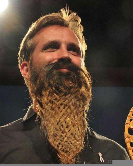 long latticework beard design