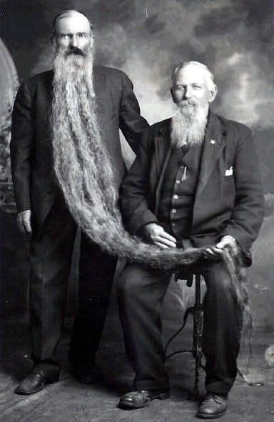 Hans N. Langseth longest beard in history