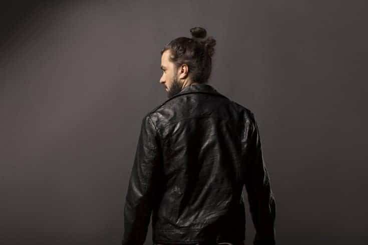 bun with beard style for men