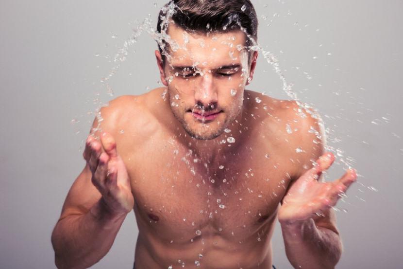clean shave men