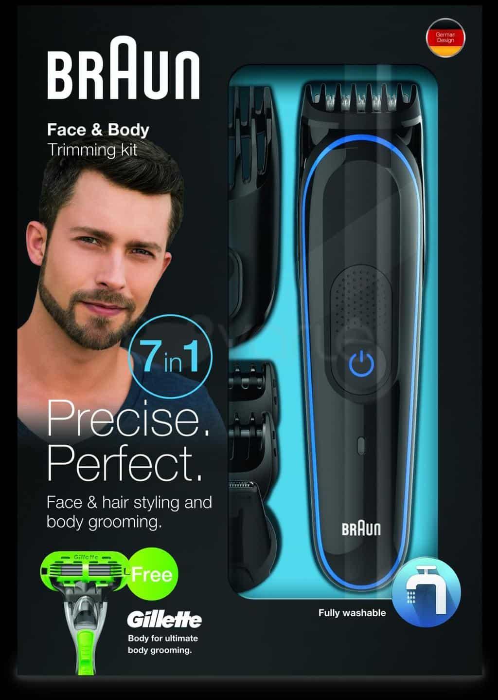 Braun MGK3040 Men's Beard Trimmer for Hair