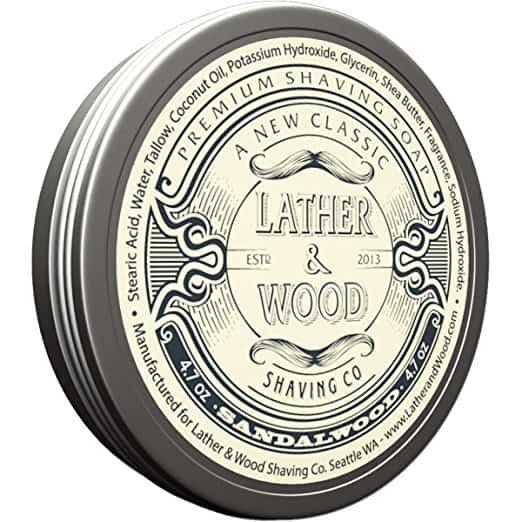 Lather & Wood Shaving Soap