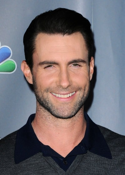 Adam Levine 5 o'clock shadow beard