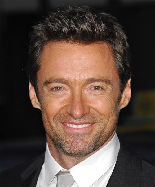 Hugh Jackman in shadow beard