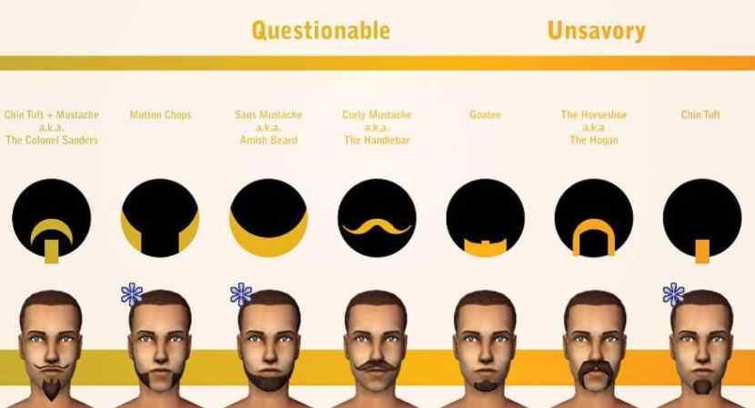 trustworthiness of beards