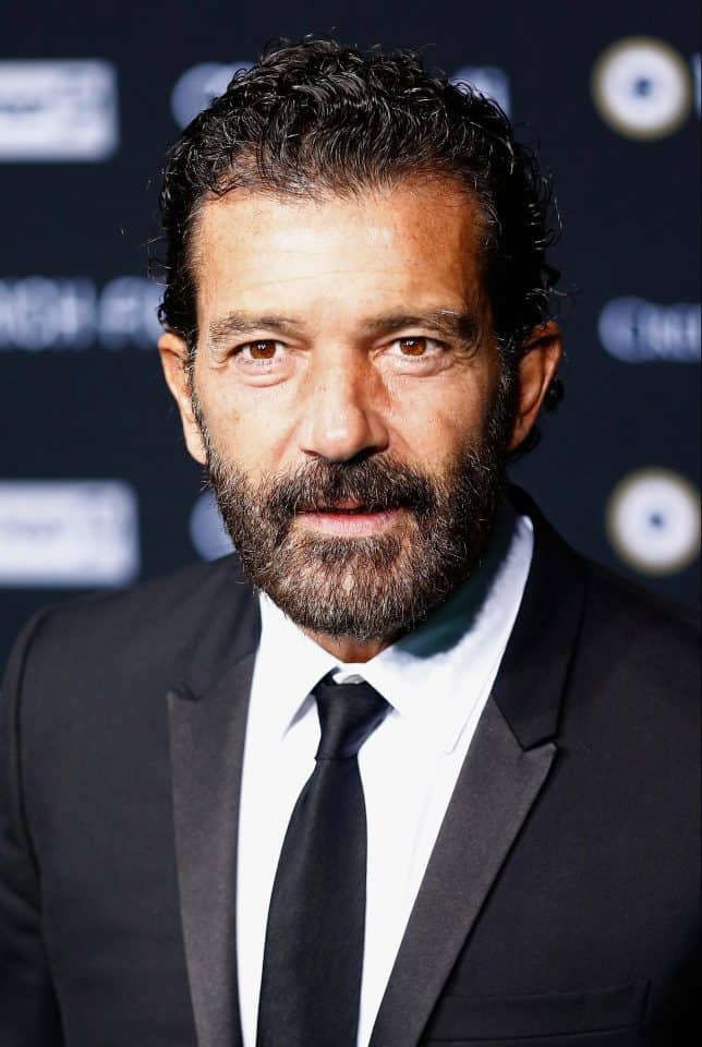 Antonio Banderas short beard