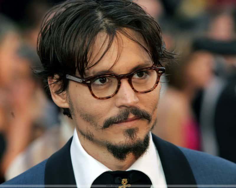 johnny Depp french fork beard