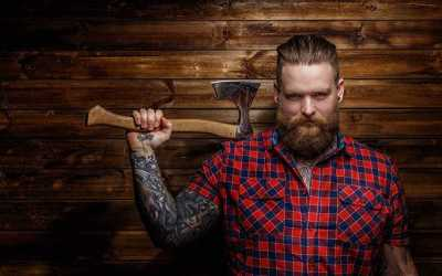 how to do lumberjack beard