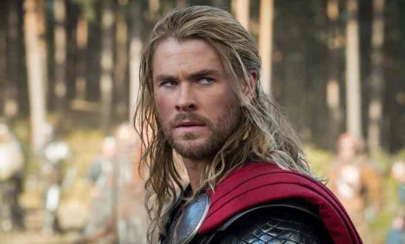 thor superhero beard