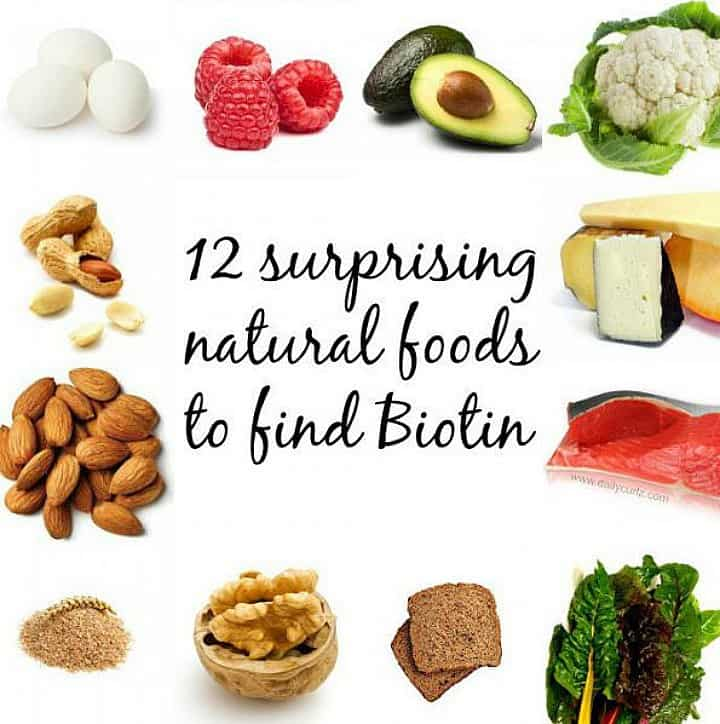 foods rich in biotin