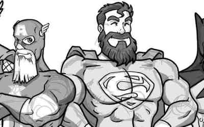 Superheroes beardstyle