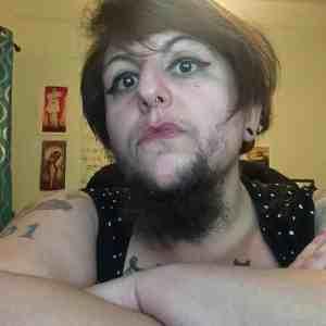 women with beard