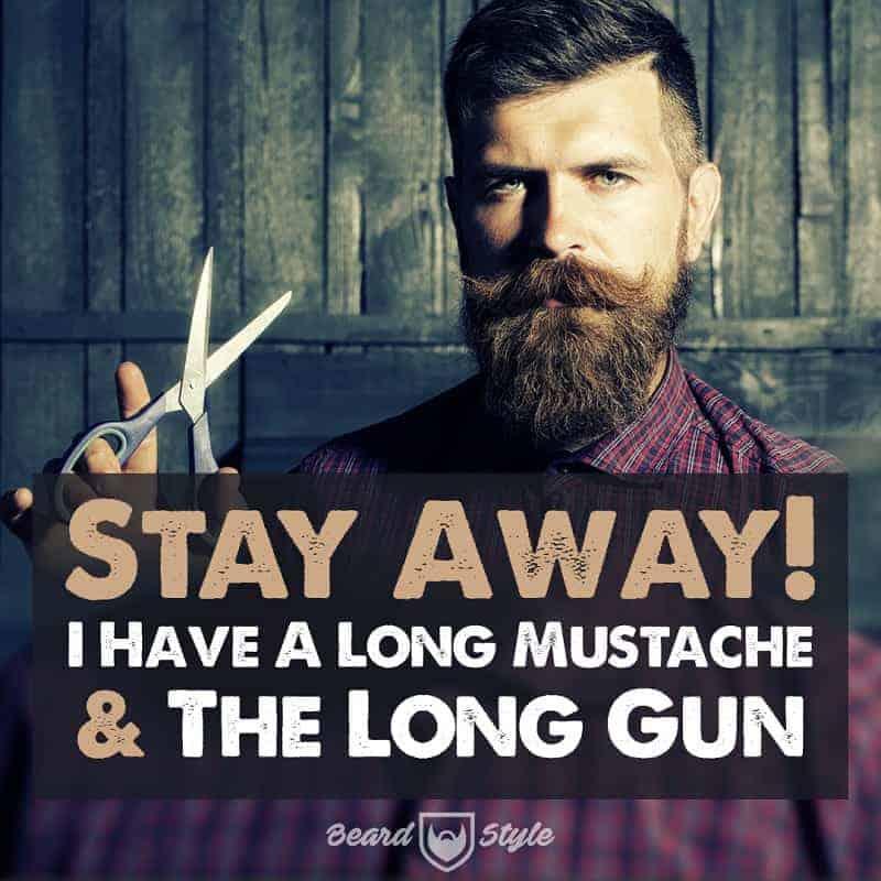 funny mustache quote meme