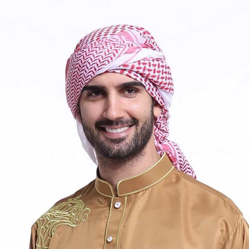 Arab inspired beard