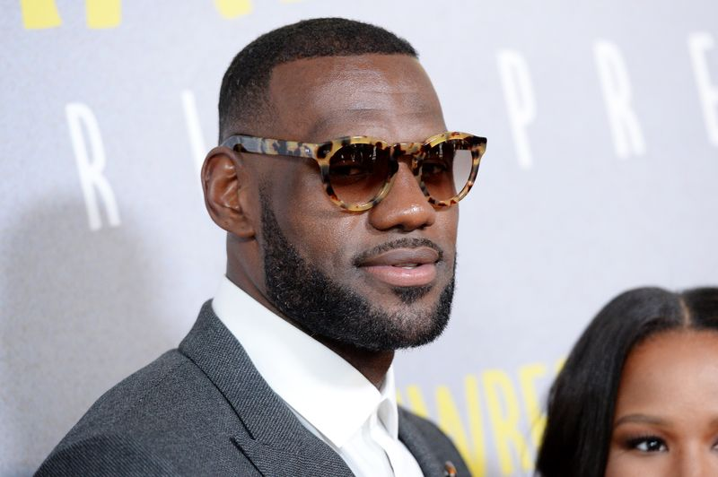 LeBron James with beard