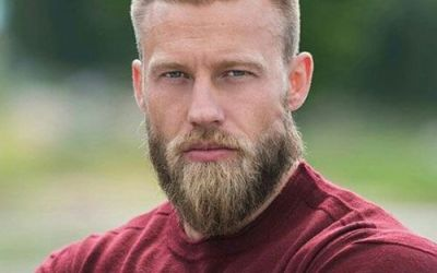 beard styles for men with short hair