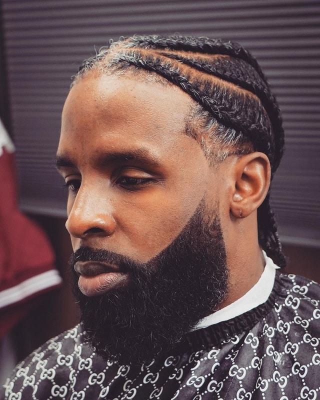 faded beard for black men