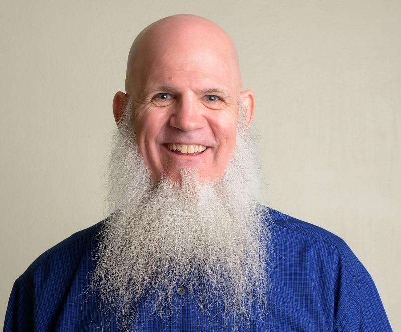 long beard with no mustache