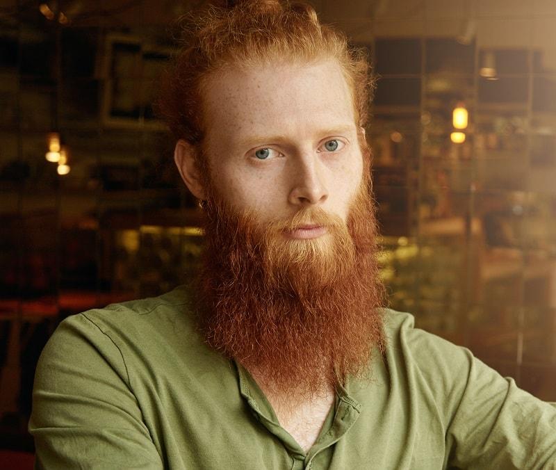 long red beard