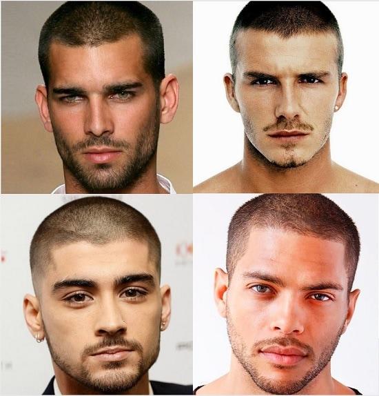Beard Type With Military hair Cut