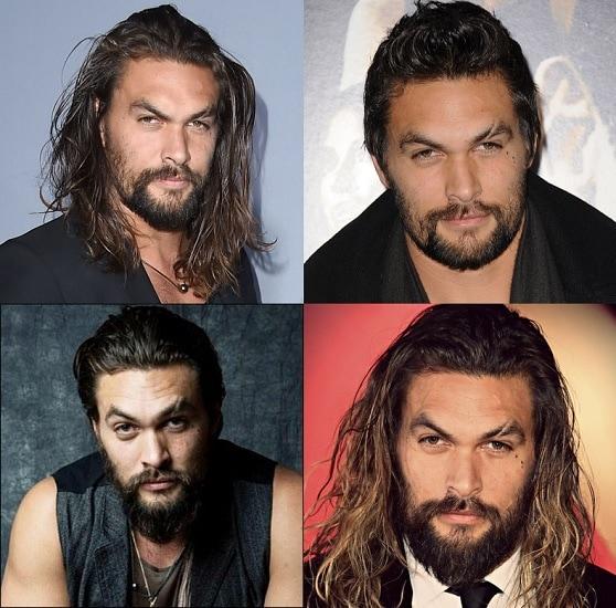Jason Momoa beard style