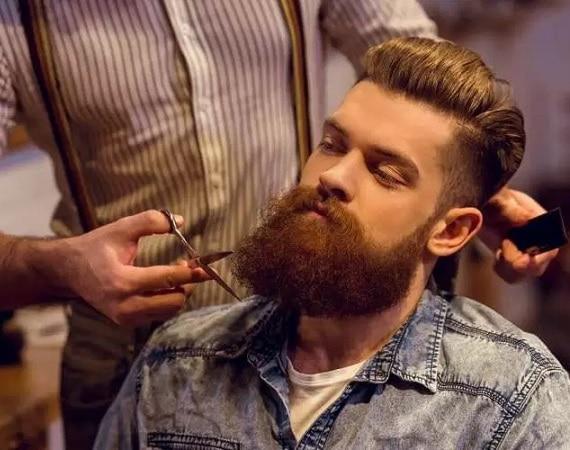 maintenance of curly beard