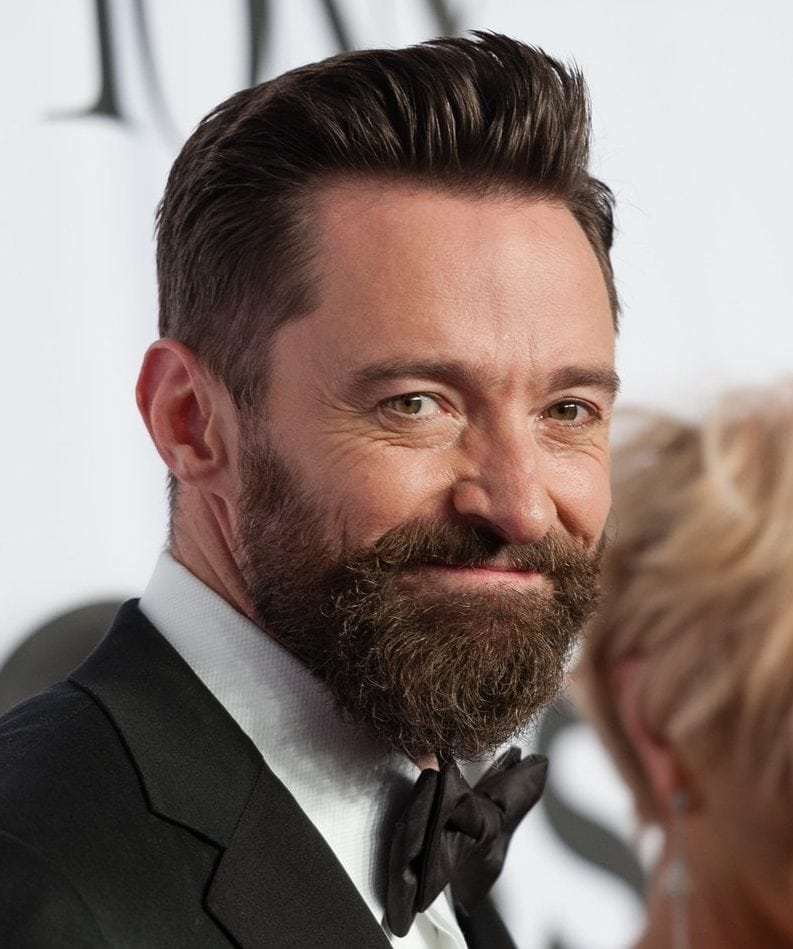 mustache and beard like English men