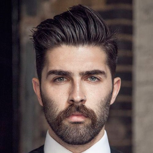 different beard styles for oval face