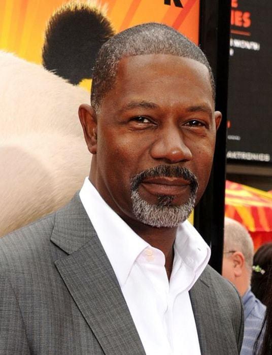 black men tow-toned goatee
