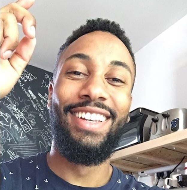 extended goatee beard for black men