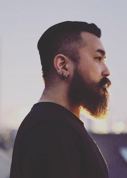 Full Japanese Beard for Men