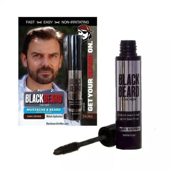 Blackbeard for Men Instant Brush-on Beard & Mustache Color