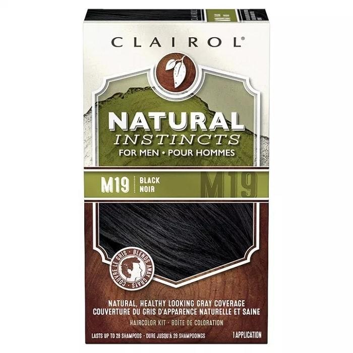Clairol Natural Instincts Semi-Permanent Hair Color Kit for Men