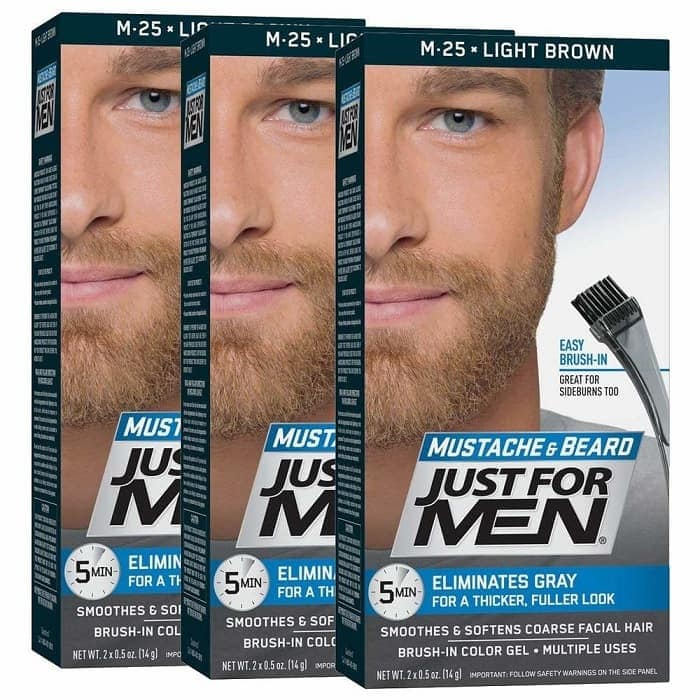 Just for Men Mustache and Beard Color