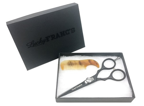 Lucky Franc's Beard Trimming Scissors