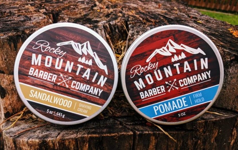Rocky Mountain Barber Company Shaving Cream