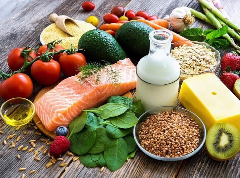 healthy diet for beard growth