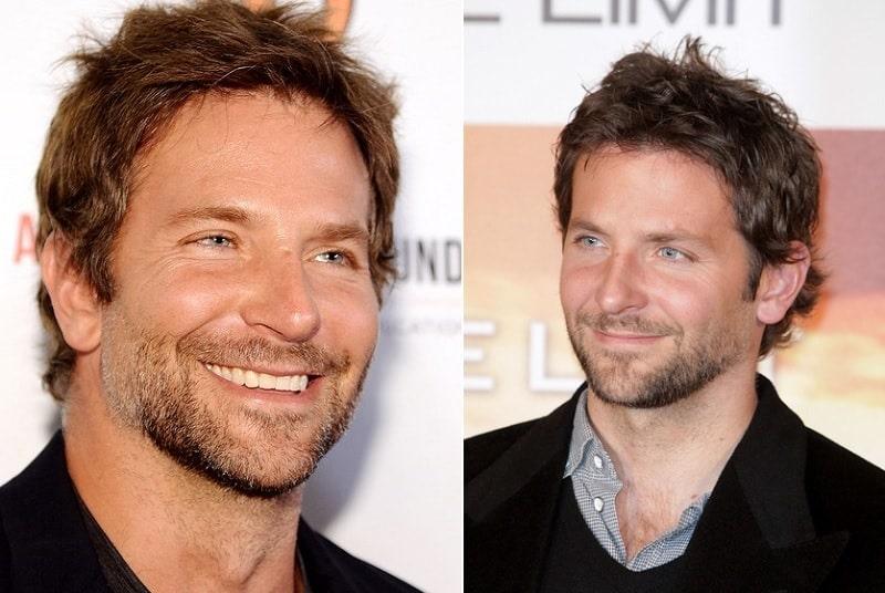 Bradley Cooper with Short Beard