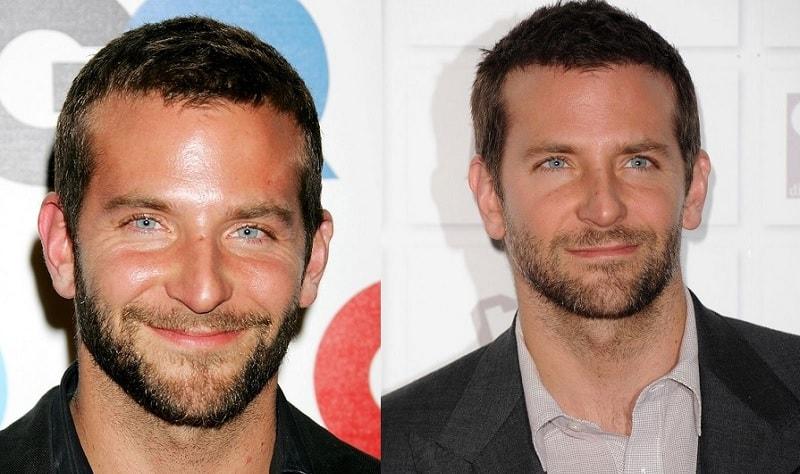 Bradley Cooper with Stubble Beard