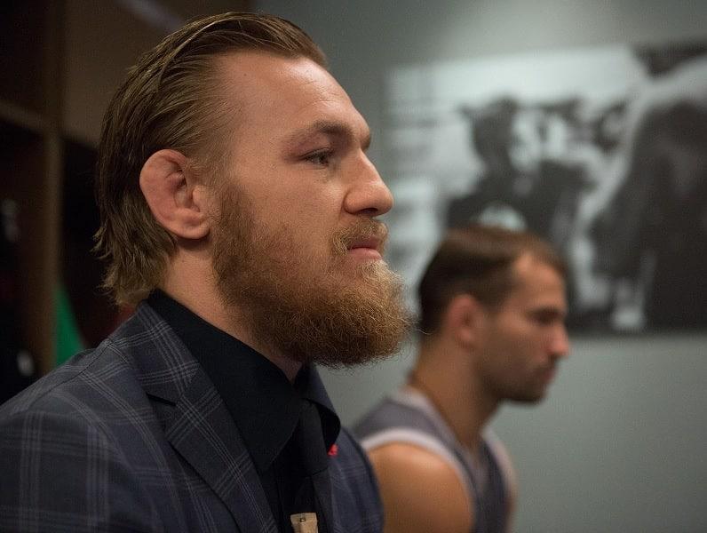 Conor McGregor's full beard with mustache