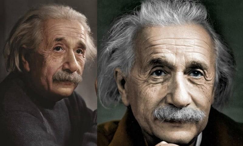 Albert Einstein's Famous Mustache Style