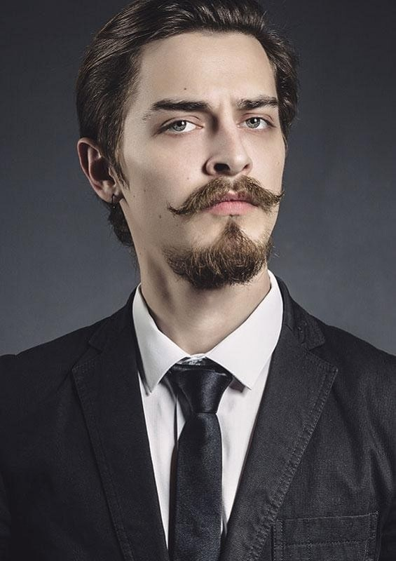 french style mustache