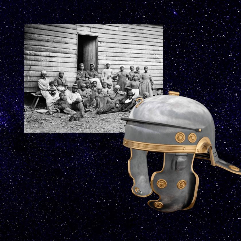 American Roman slavery