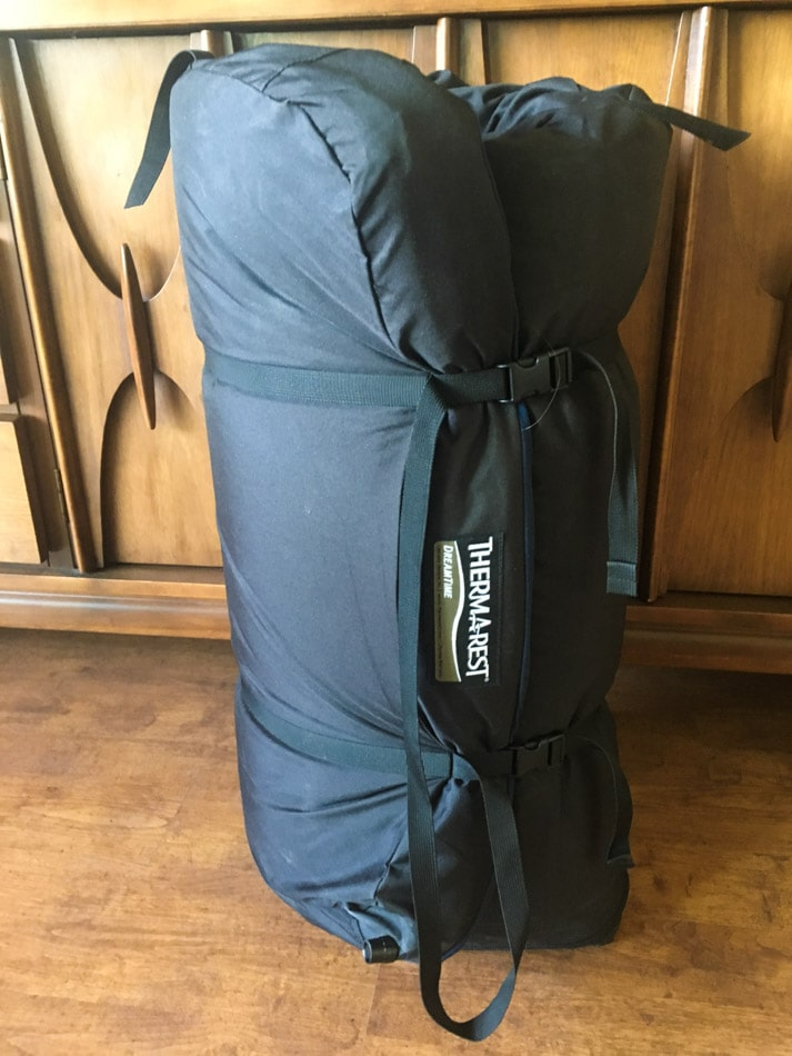 Gear Review Thermarest DreamTime Sleeping Pad