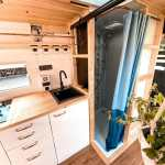 11 Camper Vans With Bathrooms Toilet Shower Inspiration For Off Grid Living Bearfoot Theory